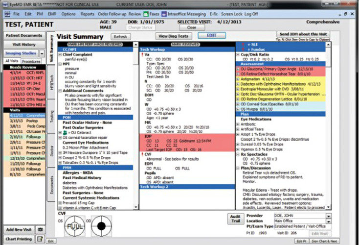 Eyemd Emr Software Ehr Pricing Demo Amp Comparison Tool