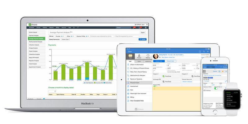 drchrono EHR Software - EHR Pricing, Demo & Comparison Tool