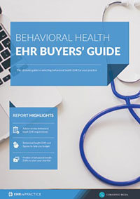 Behavioral health EHR buyers guide - thumbnail 200
