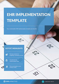 a template for your ehr project implementation timeline