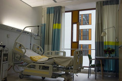 EHR Meaningful Use - hospital room
