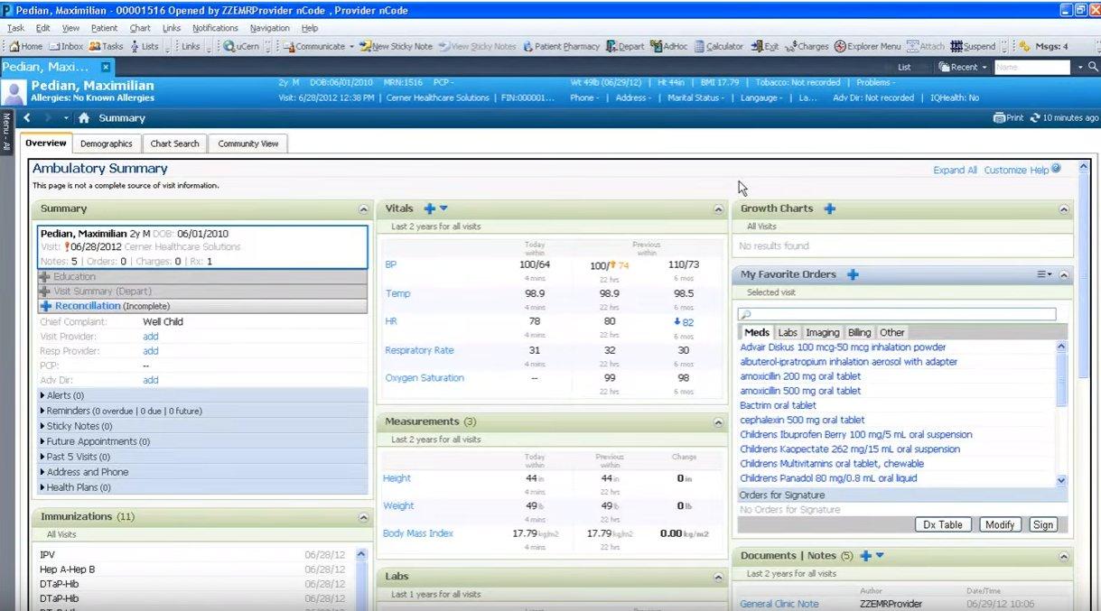 cerner ambulatory ehr ehr pricing demo comparison tool rh ehrinpractice com cerner powerchart user guide cerner firstnet user guide